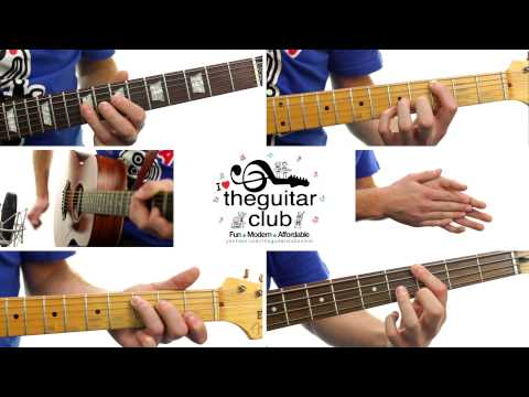 ► Animals - Maroon 5 (Guitar Lesson / Cover)