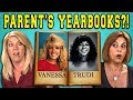 Download TEENS REACT TO THEIR PARENT'S YEARBOOKS