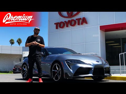 TAKING DELIVERY OF MY 2020 TOYOTA SUPRA