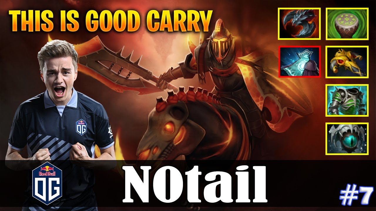 N0tail Chaos Knight Safelane This Is Good Carry Dota 2 Pro Mmr Gameplay 7 Youtube