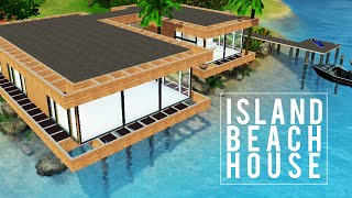 The Sims 3 Speed Build — Island Beach House