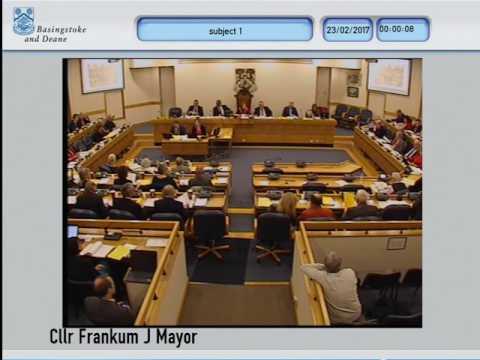 BasingstokeGov 23/02/2017  Full Council