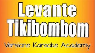 Levante - Tikibombom (Versione  Karaoke Academy) Sanremo 2020