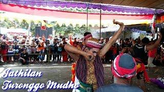 Sangarrr!! detik² Jathilan ndadi Turonggo Mudho