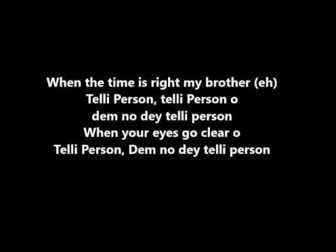 TIMAYA  TELLI PERSON FT PHYNO & OLAMIDE LYRICS