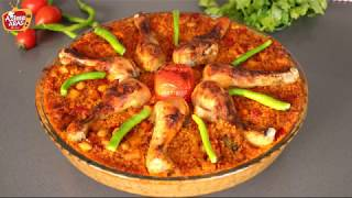 RAMAZANA Uygun Tam Davet Yemeği Tavuk kapama Tarifi/Azime Aras