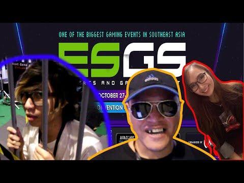 Nakolong, Nakasalobong si Kamote, at Nainterbyu Ni Ann | ESGS 2017 - Lang Kwentang Vlog #3