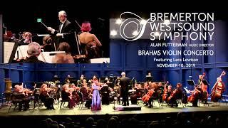 Brahms Highlight Lara Lewison with the Bremerton WestSound Symphony