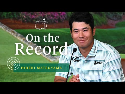 Hideki Matsuyama Leads Heading Into Sunday | The Masters