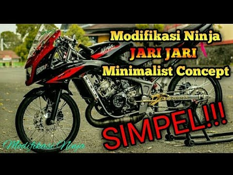 Modifikasi Ninja R Minimalis Simple Youtube