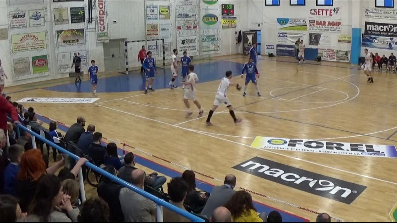 Serie A1M [Play-Off 6^]: Fasano - Bolzano 27-25