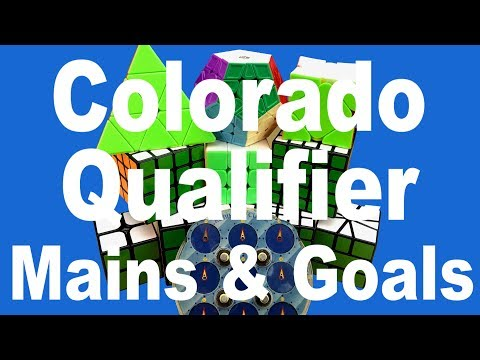 Mains & Goals for Colorado Qualifier 2018!