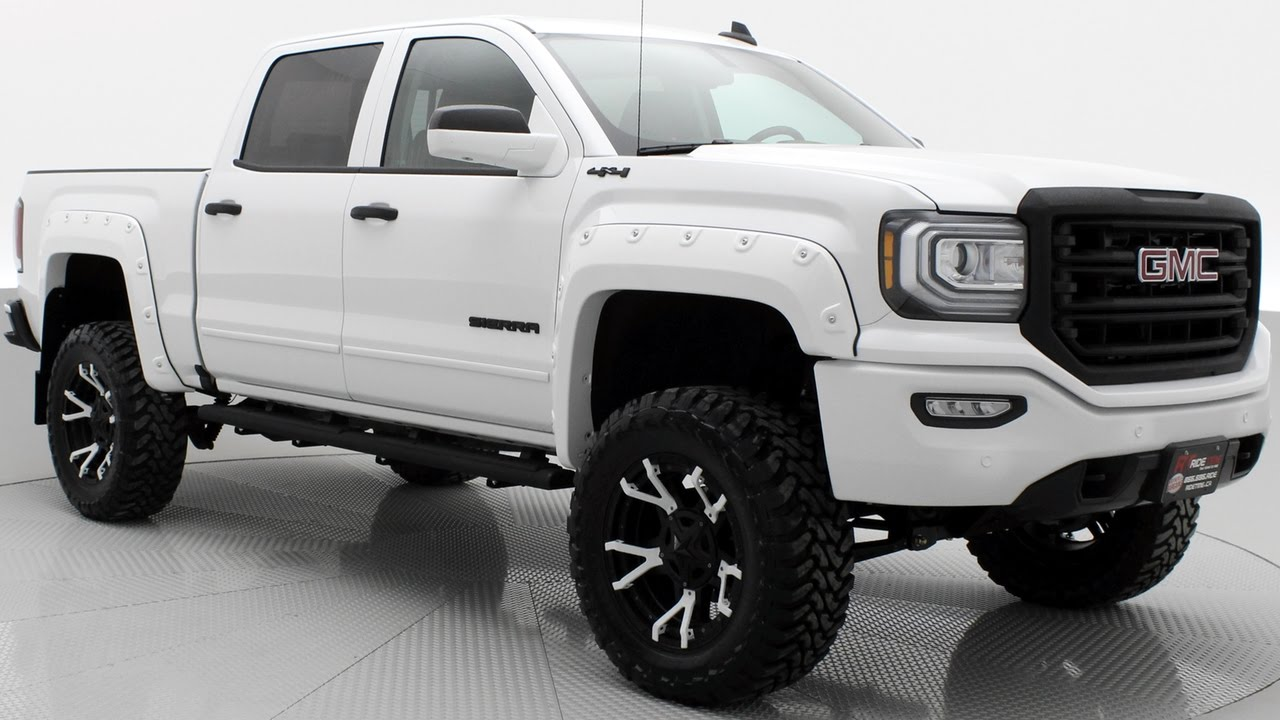 White Gmc Sierra Lifted | www.pixshark.com - Images ...