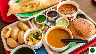 Eating All the Menu From Haldiram Breakfast Part 01 Gol Gappe, Dosa, Pav Bhaji