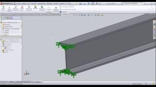 Análisis de Elementos Finitos en SolidWorks