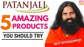 5 Amazing Patanjali Products You Should Try - NOT SPONSORED