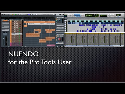 Nuendo For The Pro Tools User -