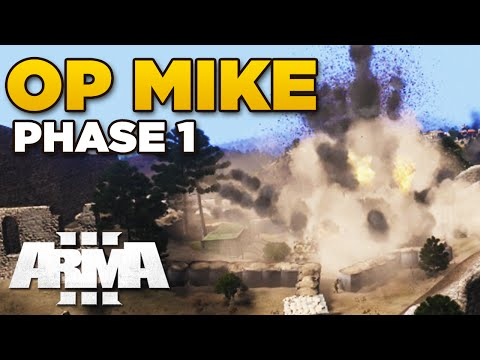 ZEUS - OPERATION MIKE PHASE 1 | ARMA 3 [ARES, Blastcore Phoenix, JSRS Dragonfyre]