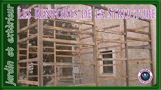 cabanon de chantier part 5 renforts de la structure
