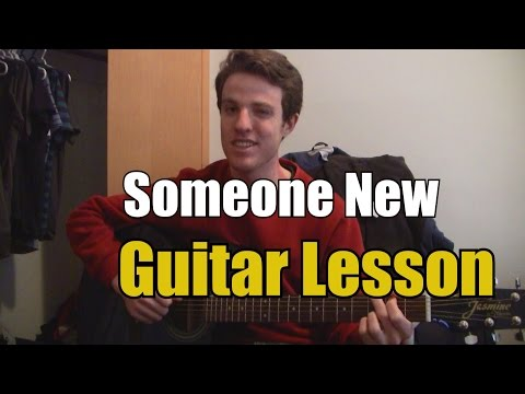 Someone New - Hozier (Guitar Lesson & Chords)
