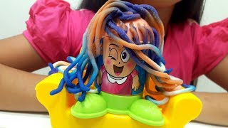 Mainan Anak HAIR STUDIO 💖 Lilin Mainan Membuat Beraneka Gaya Rambut 💖 Let's Play Jessica