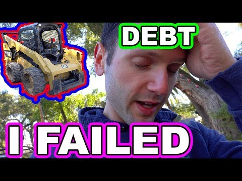 Can't Afford Caterpillar Equipment...Too Much Debt (Selling Skid Steer)