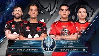 CLS -  KLG vs Furious   - Apertura S5D2