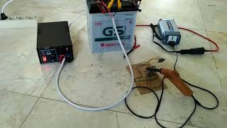 Automatic accu charger