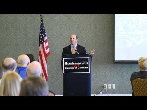 Hendersonville Chamber of Commerce May 2012 Luncheon - State of the City