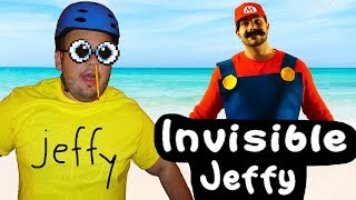 SML Movie: Invisible Jeffy! LIVE ACTION
