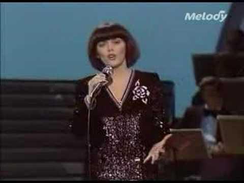 Mireille Mathieu - Французская коллекция, 1986. LP, side B