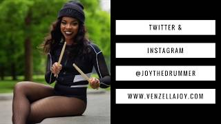 Young & Ambitious on the Scene with Venzella Joy [Beyonce's Drummer]