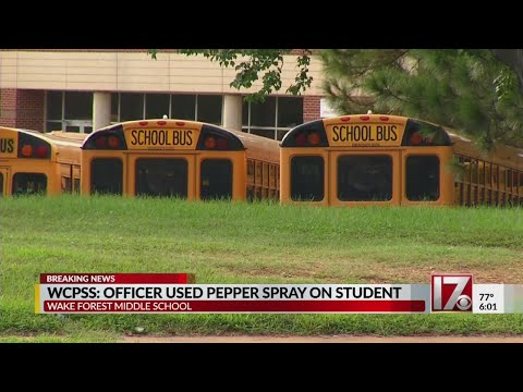 Pepper spray used, cafeteria evacuated during fight at Wake Forest Middle School