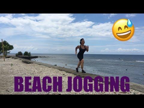 Fit Over Forty Beach Filipino Run Mindanao VLOG 11
