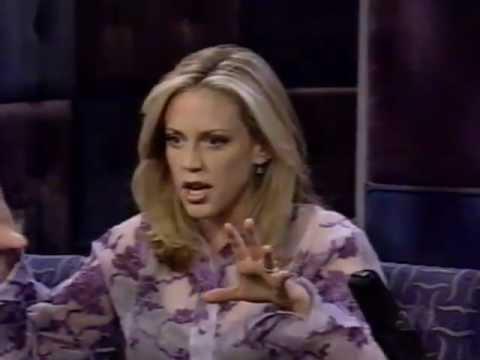 Ally Walker on Conan 1998