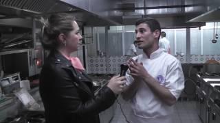 Okan Üniversitesi Aşçılık Bölümü Katmer Yapımı.