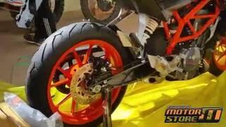 Video UNBOXING  KTM DUKE 390 Black download MP3, 3GP, MP4, WEBM, AVI, FLV November 2018