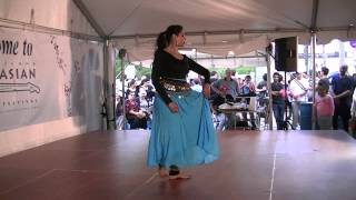 Antara Datta North Indian Classical Dance at Cleveland Asian Festival