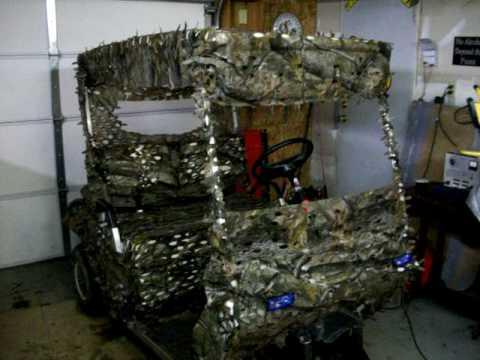 Redneck Camo Golf Cart