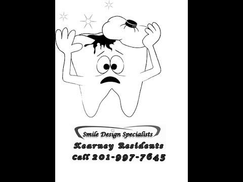 Porcelain crown dental procedure- kearney nj- call 201-991-1228 Smile Design Specialist