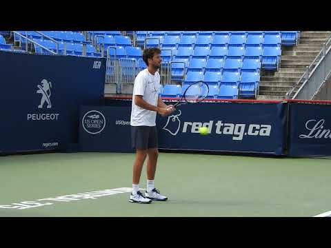 2017 08 10 Robin Haase practice session at Rogers Cup Montreal