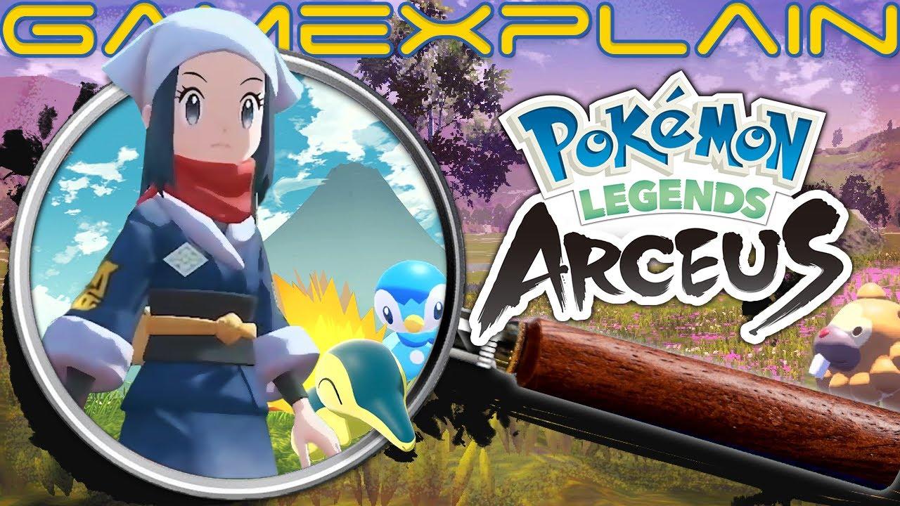 Pokémon Legends: Arceus - Ultimate ANALYSIS | Reveal Trailer (Secrets & Hidden Details)
