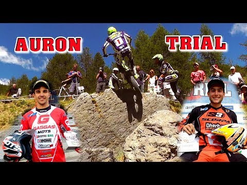 Auron Championnat de France de Trial 2017
