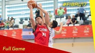 Argentina v China - CL 9-16 - Full Game - FIBA U17 World Championships 2016