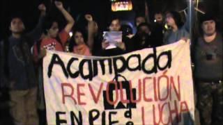 PRONUNCIAMIENTO DE JÓVENES MEXICANOS 1968-2013 ACAMPADA REVOLUCIÓN 132 DEL 2 DE OCTUBRE 2013