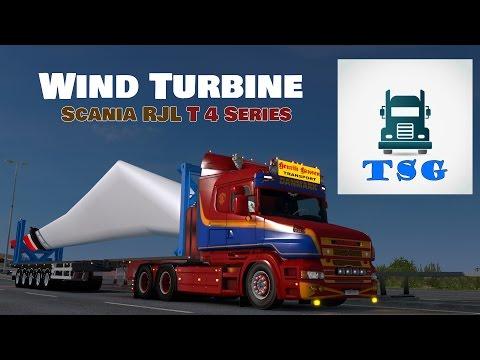 Live Stream - Henrik Hansen - Scania T 4 Series - Long Load - Rear Steer