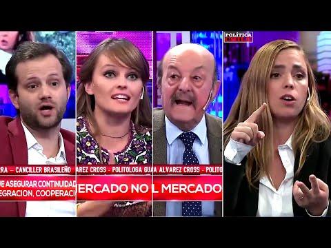 "Axel Kaiser y Gloria Álvarez en ""Intratables"" [Debate, Argentina]"