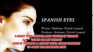 MADONNA - SPANISH EYES -KARAOKÊ : CÁSSIA&MILTON