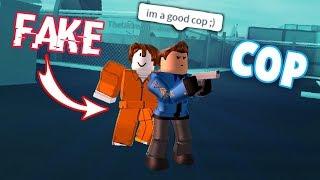 *FAKE* CRIMINAL TROLL IN ROBLOX JAILBREAK!