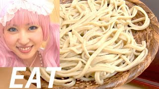 How to eat Japanese Soba NOODLES by Master Chef|how-to cooking Recipe|そば打ち講座